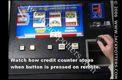 slot machine cheating device